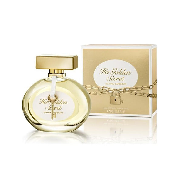 A.Bandera Her Golden Secret EDT 80 ML SRAY Mujer