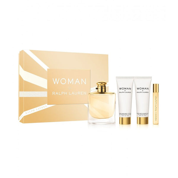 Ralph Lauren Woman Estuche Edp 100Ml 4 pcs- Lodoro Perfumes