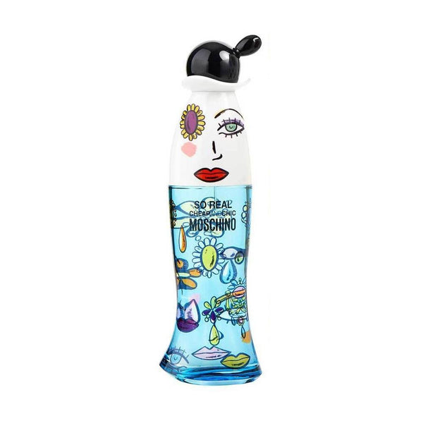 Moschino Cheap And Chic So Real Edt 100 Ml (Con Tapa) Mujer Tester - Lodoro Perfumes y Lentes