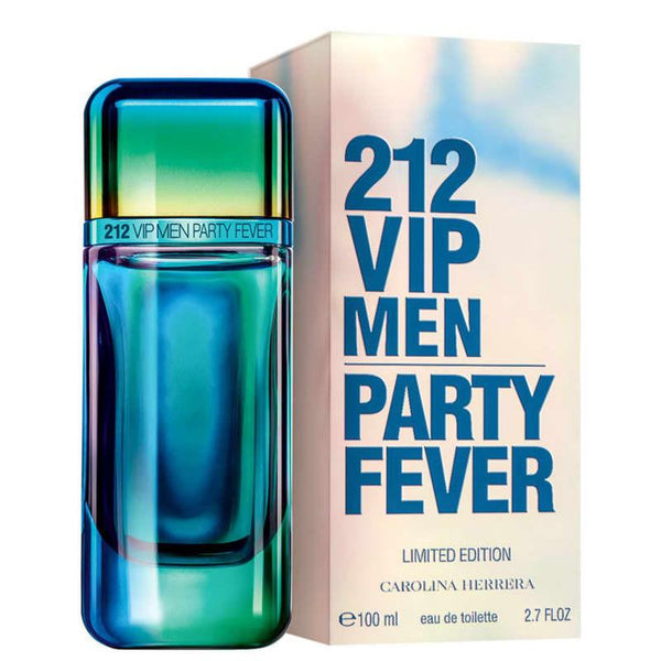 Carolina Herrera 212 Vip Party Fever Edt 100Ml Hombre
