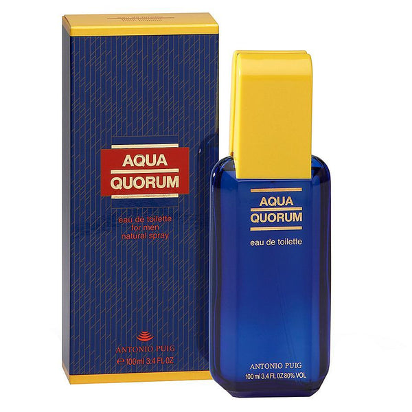 Perfume Original: PERFUME AQUA QUORUM BY PUIG EDT 100 ML HOMBRE