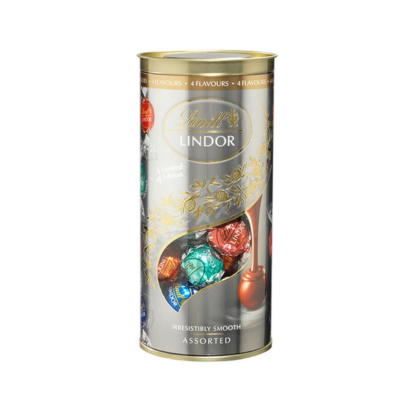 Chocolate Lindt Lindor Tube Flavour Edition 400G
