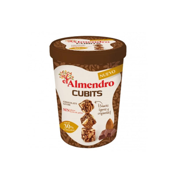 Chocolate El Almendro Cereal Cubits Chocolate C/Leche 100Gr
