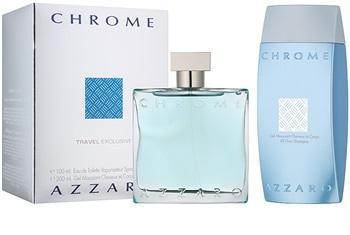 Perfume Original: PERFUME AZZARO CHROME ESTUCHE EDT 100 ML + GEL DUCHA 200 ML 2 PZS HOMBRE