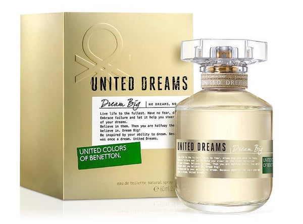 Perfume Original: PERFUME DREAM BIG BY UNITED COLORS OF BENETTON EDT 80 ML MUJER