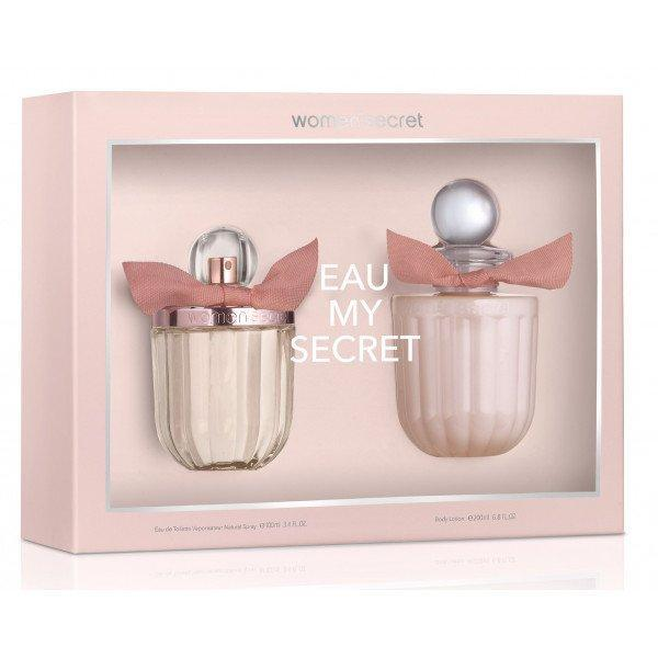 Perfume Original: PERFUME EAU MY SECRET BY WOMAN SECRET ESTUCHE 100ML + 200ML BL EDT MUJER