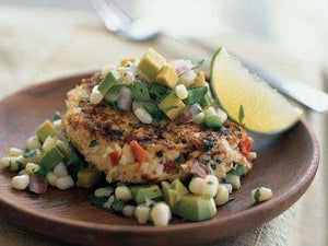 Healthy Spicy Shrimp Cakes