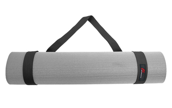 Yoga Mat 100% Durable Cotton - Black