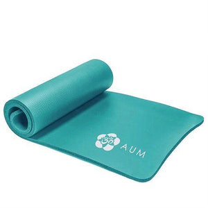 "Yoga Exercise Mat - 72"" x 24"" x 1/2"" - Kiwi Green"