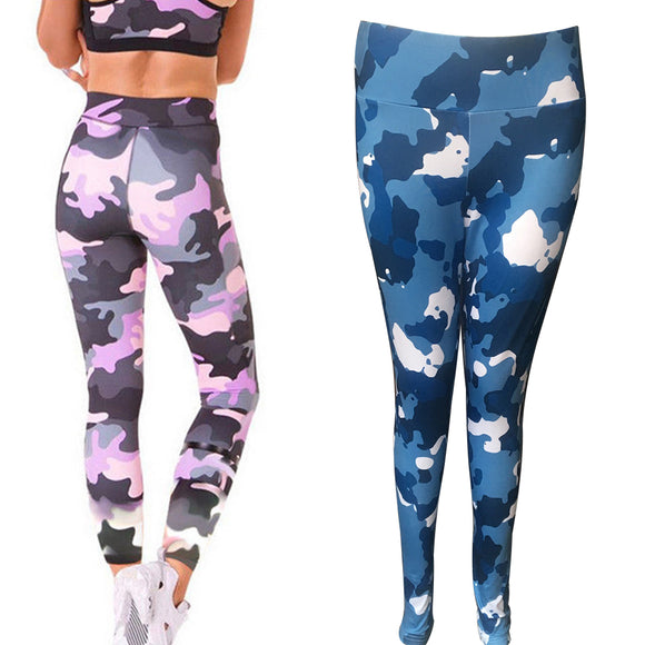 Women Camouflage Print Workout Leggings