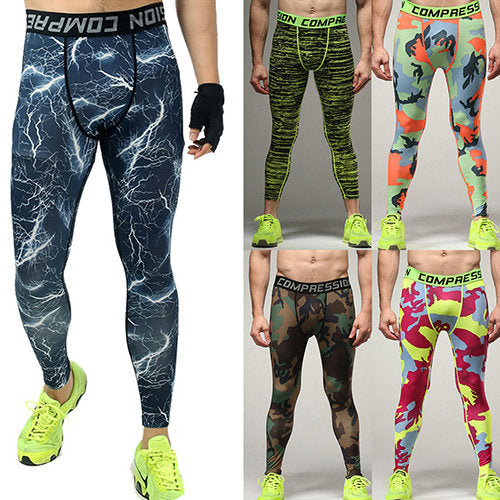Plus Size Men Compression Sport Pants
