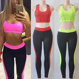 2 Piece Yoga Fitness Sports Suit