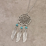 Dream Catcher Pendant Necklace