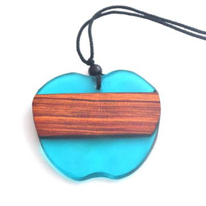 Hand-Crafted Apple Style Necklace