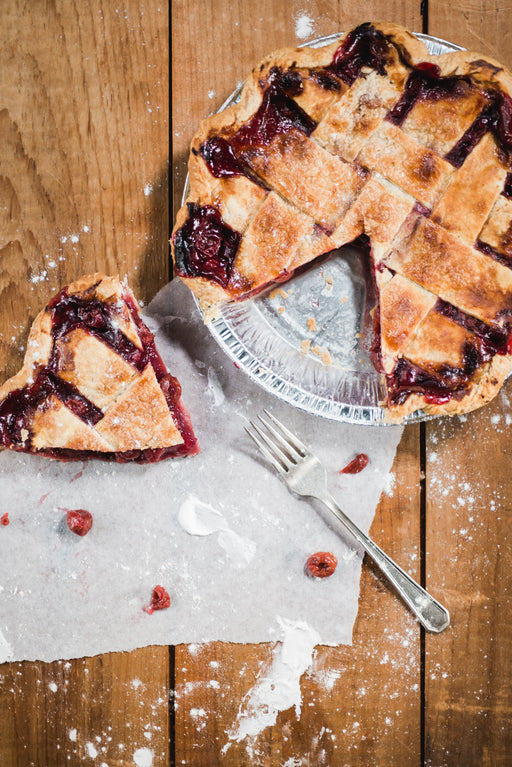 Vegan Sour Cherry Pie