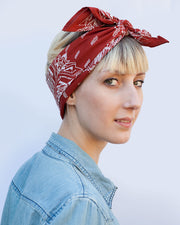 Thunderbird Bandana in Blood Red
