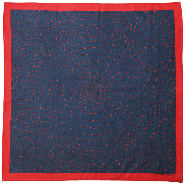 Therefore Bandana in Red and Navy