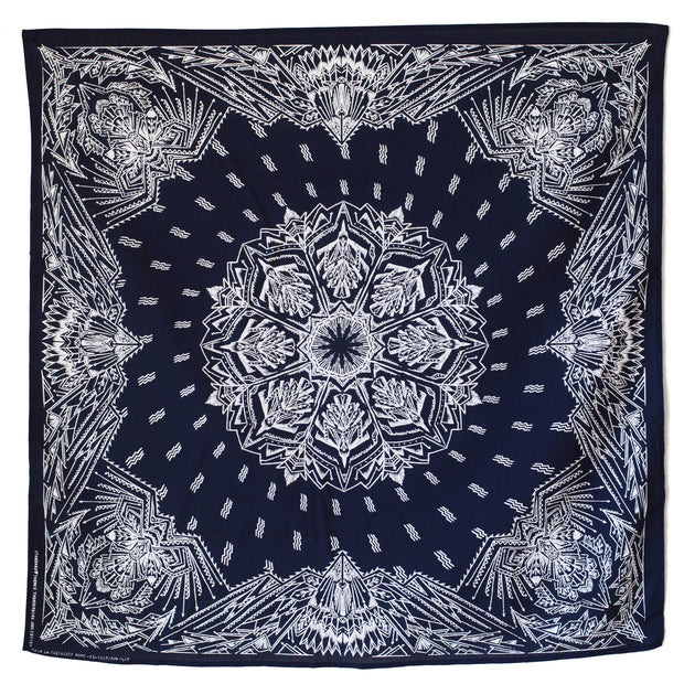 Standard Themes Bandana Thunderbird in Navy