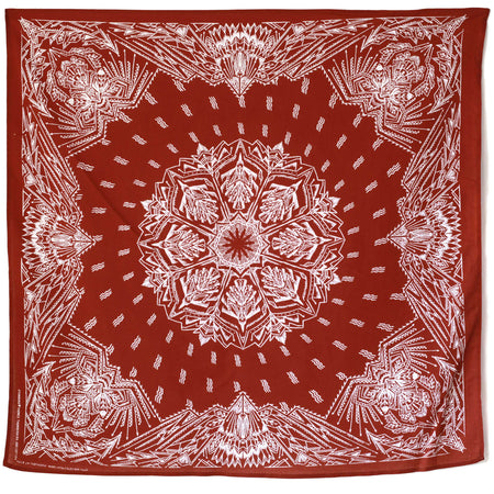 Standard Themes Bandana Thunderbird in Oxblood