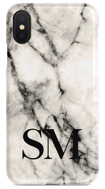 White Marble — Initials