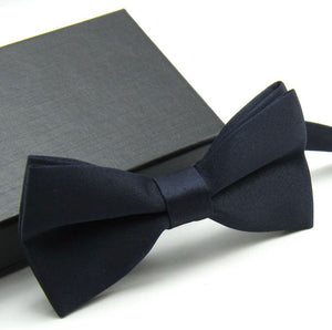 16 Colors Bow Ties For Men Bowtie Tuxedo Classic Solid Color Wedding Party