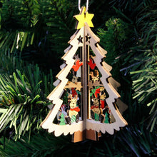 FREE SHIPPING 1PC Christmas Tree Ornaments Wooden Pendant