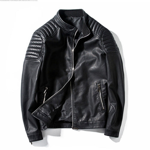 2018 Leather Jackets Men's Outwear Coats Spring Autumn