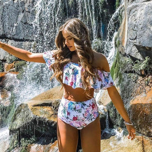 2019 Sexy bikini High Waist Swimsuit