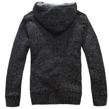 2018 Fur Inside Thick Autumn & Winter Warm Jackets Hoodies Hooded Men's Casual 5 Color Thick Sweatshirt