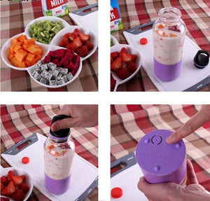 500ml Portable Juicer Cup USB Rechargeable