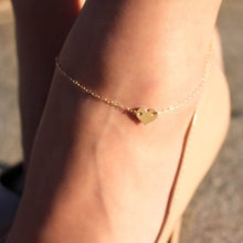 Heart Female Anklets Crochet Sandals Foot Jewelry Leg / Anklets On Foot Ankle Bracelets For Women Leg Chain