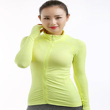 2018 Women's Training Fitness Running Yoga T-shirt Long Sleeved Sports Jacket