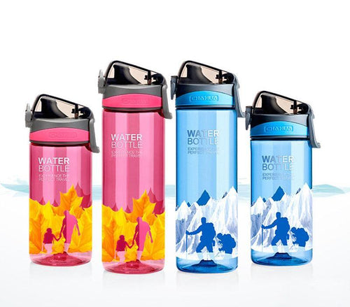 620ml Plastic Drink Bottle Outdoor Sports Portable