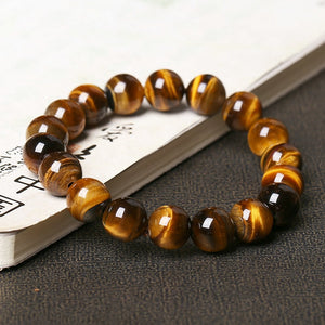 Natural Tiger's eye Stone Bracelet