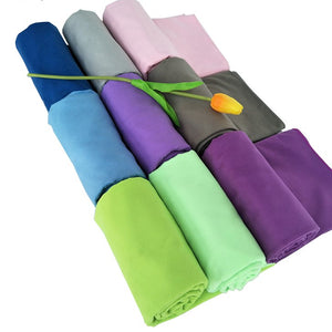Beach towel Microfiber Travel Fabric Quick Drying outdoors Sports Swimming Camping Bath Yoga Mat Blanket Gym 2017