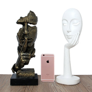 Retro vintage Creative Abstract Characters Sculpture