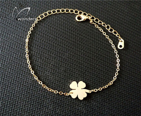 Leaf Clover Bracelet For Women