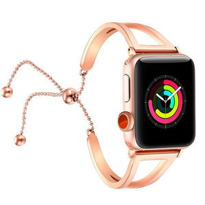 Women Watch Band For Apple Watch, Stainless Steel bracelet iWatch Series 1 2 3 4