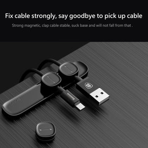 Magnetic Cable Clip - USB Cable Organizer Clamp