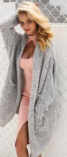 Casual knitting long cardigan female Loose kimono knitted jumper 2017 warm winter sweater women