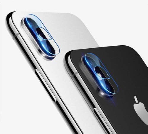 iphone X Camera lens Screen Protector - 10 HD Clear Camera Tempered Glass - Seamless covering Anti-scratch