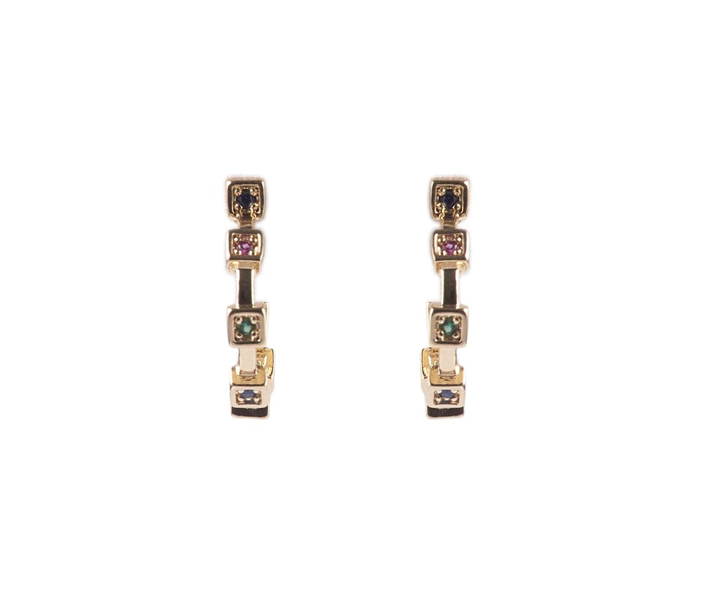 Carnevale Multicolor Earrings