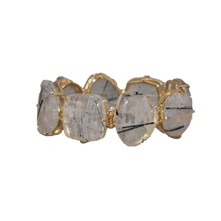 Allure Bracelet Rutilated Quartz