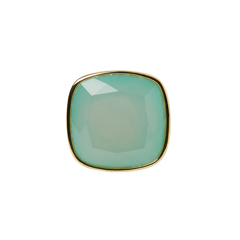 Cestino Blue Agate Ring