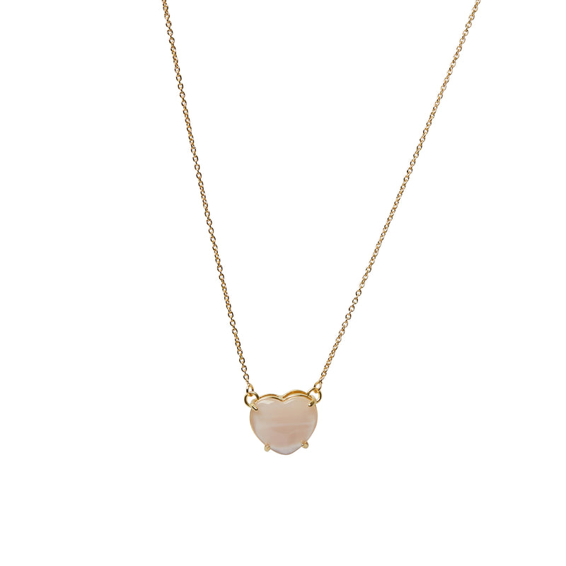 Piccolo Cuore Mother of Pearl Necklace