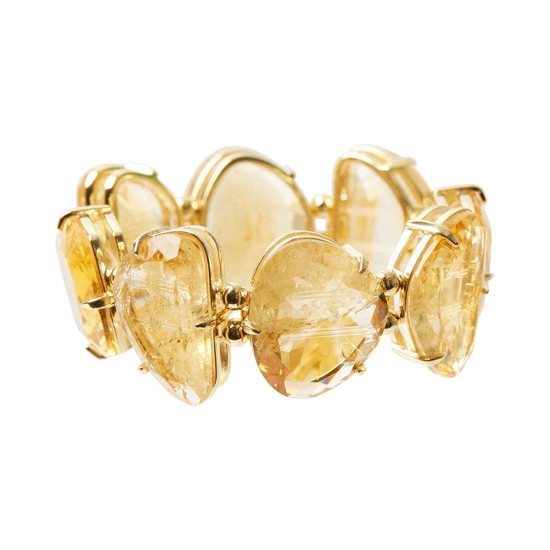 Flaming Bracelet Citrine