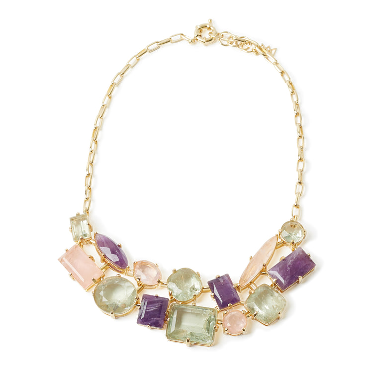 Nuit Necklace Spring Colors