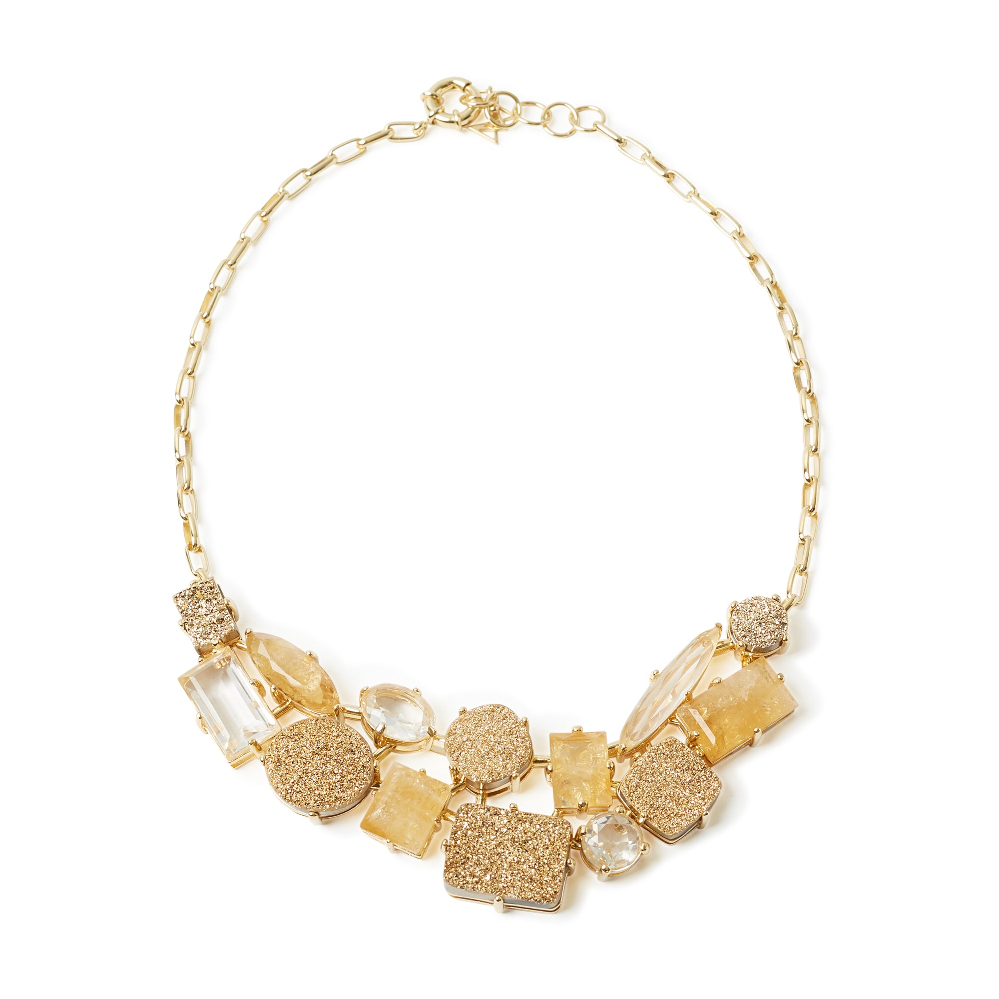 Nuit Necklace Golden Colors