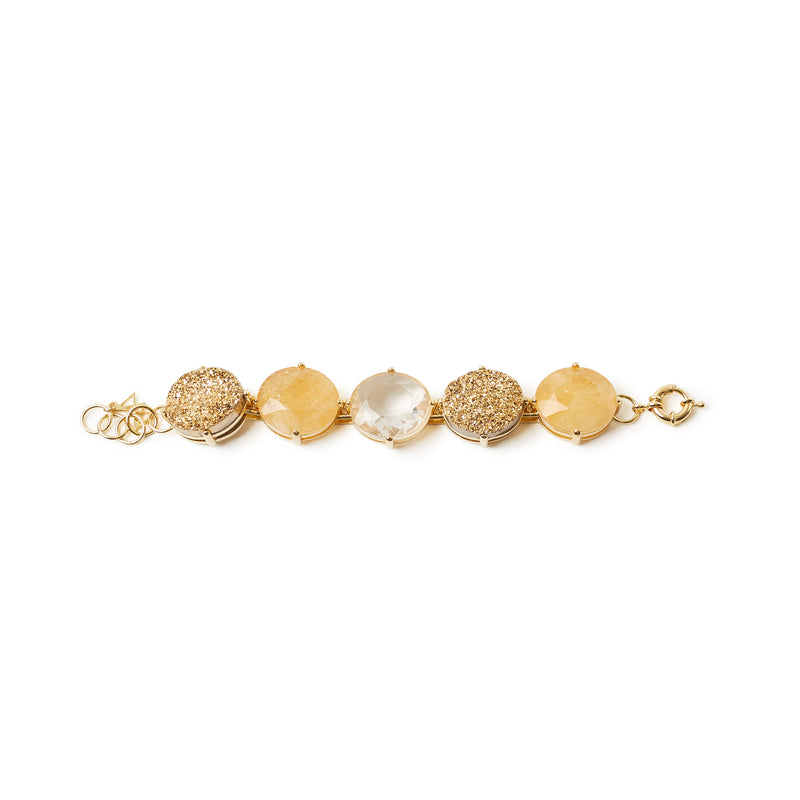 Bella Bracelet Golden Colors
