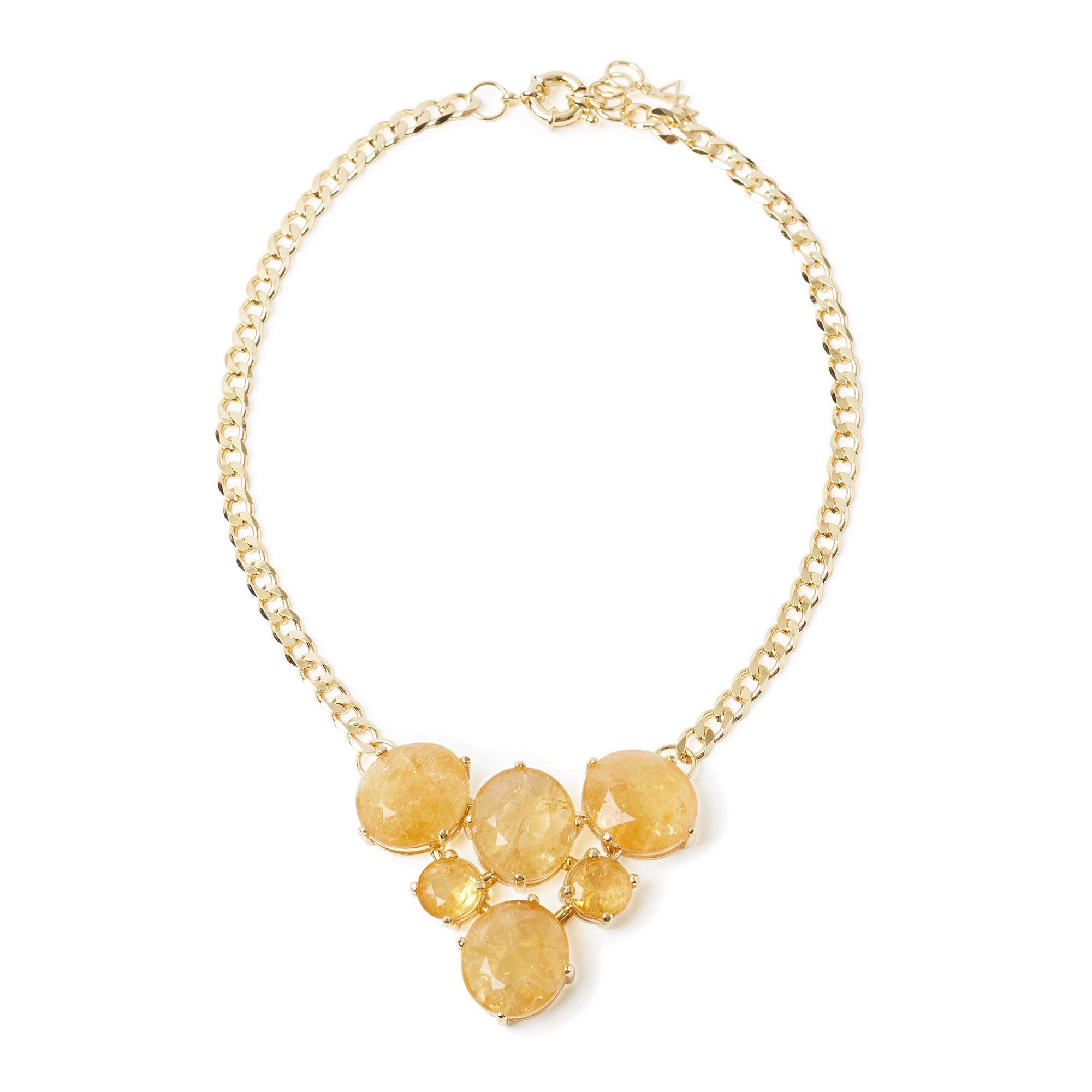 Tramonto Necklace Citrine